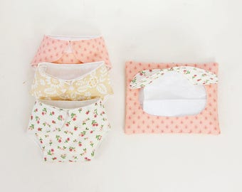 Doll Diapers & Wipes/Baby Doll Diapers/Doll Wipes/Pretend Wipes and Diapers/Bitty Baby Doll Diapers