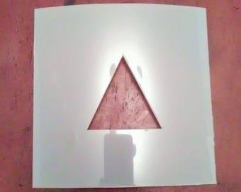 Triangle Shape Stencil