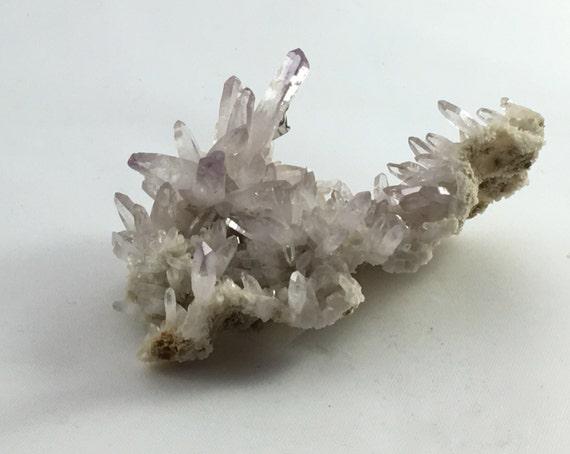 Vera Cruz AMETHYST// Healing Gemstone// Raw Amethyst Point Cluster// Home Decor// Healing Tools// Protection Stone// Statement Piece