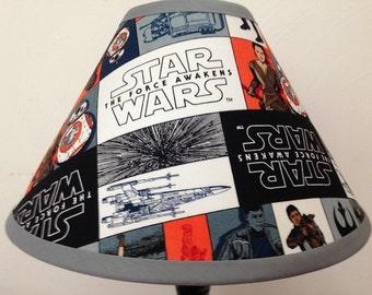 Star Wars The Force Awakens Childrenu0027s Fabric Lamp Shade/Childrenu0027s Gift