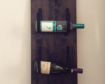 Wine rack, handmade, DIY