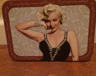 Vintage Collectible MARILYN MONROE Lunch Tin Box