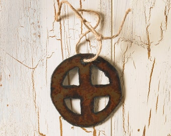 Christmas Ornament Art/ Decoration Earth Symbol