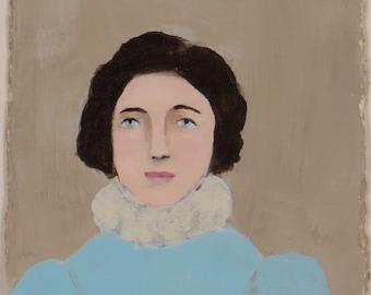 A Lady - Original Painting by Elizabeth Bauman