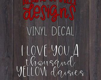 Thousand Yellow Daisies