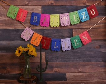 papel picador birthday banner