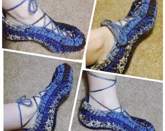 Crochet Lace Booties *PATTERN ONLY*