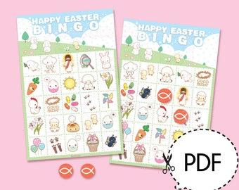 Happy Easter Bingo Game Kit–Printable PDF Download