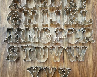 26 Pcs.Circus Font Cutter Set