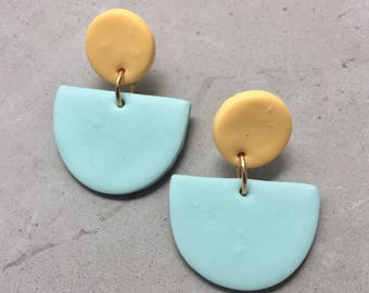 KLAY BY PIA ||| The Pastel Edit ||| The Minimalist Statement Earrings