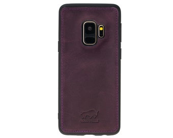 Solo Pelle Samsung Galaxy S9 Case Original S9 Vintage Purple