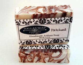 Patchouli Soap - Cold Process Lye Soap