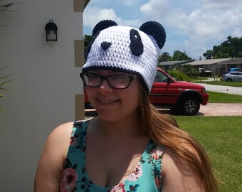 Teen-Adult panda hat