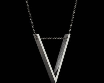 V Triangle Pendant