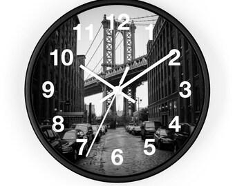 Manhattan Bridge Wall Clock