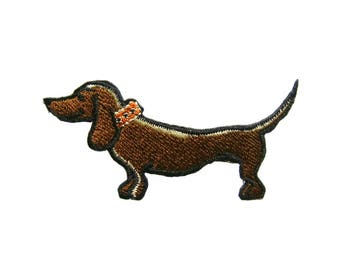 Dog Patches Applique Embroidered Iron on Patch