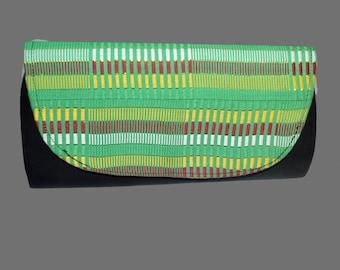 Kente Clutch, Envelope clutch,Ankara purse,Bags and Purses, African Print Purse, Gift,Green purse, Kitenge purse, African shop, Accessories