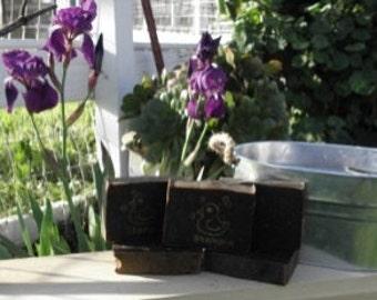 Herbal Red-Henna Shampoo Bar (cold process, organic, natural, soap)