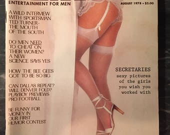 Playboy Magazine - August 1978
