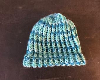 Blue twist hat