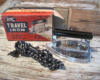 Vintage ATC Folding Travel Iron