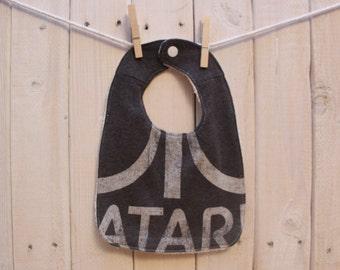 Upcycled T-Shirt Bib - Atari