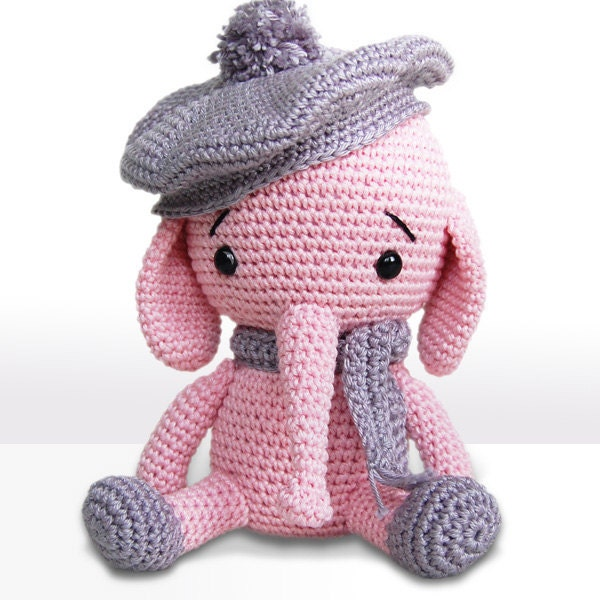 Amigurumi Crochet Elephant Pattern Emily The Elephant