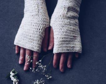 Fingerless gloves   Arm warmers   Gift for wife   Gift for daughter   Merino gloves   Fingerless mittens   Winter glove   Stocking filler