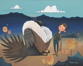 "Fine Art Print - ""The Greater Sage Grouse"""