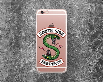 Riverdale iPhone Case iPhone 7 Plus Case iPhone 6 Plus Case iPhone 7 Case iPhone 8 Case Riverdale Samsung Galaxy S7 iPhone 5 Case South Side
