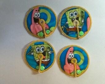 G Tube Pad Sponge Bob