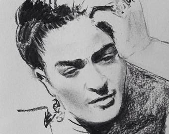 Portrait of Frida Kahlo 9