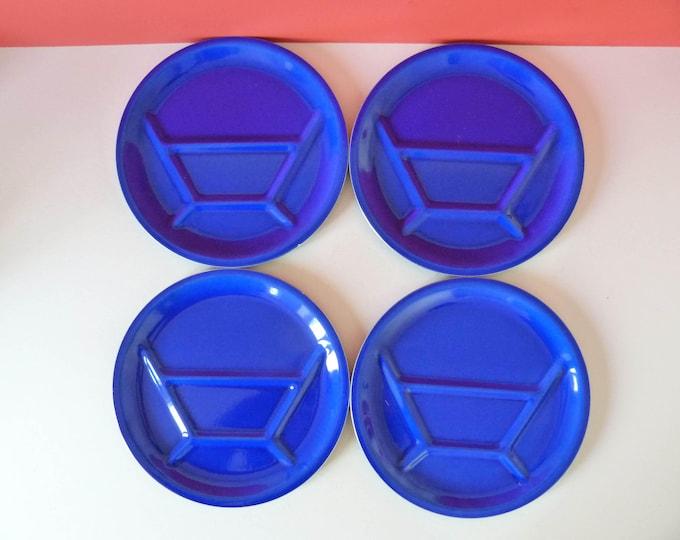 Vintage Silit Fondue plates West German