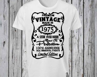 40th Birthday Iron Tshirt Design FILE ONLY Tee Shirt Forty