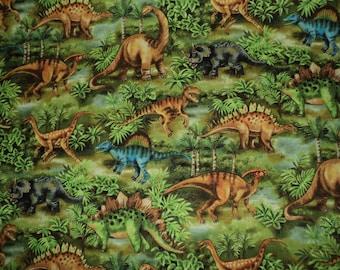 NEW Handmade Realistic Dinosaur In Woods Green Dress Custom Size