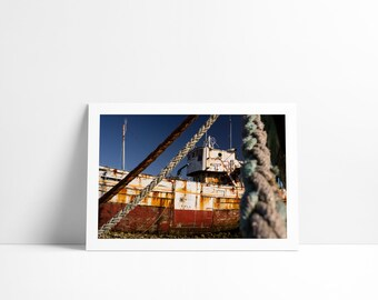 Ship #2, Fine Art print signed and numbered