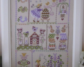 Chart EASTER in QUILT - Hardcopy or PDF format