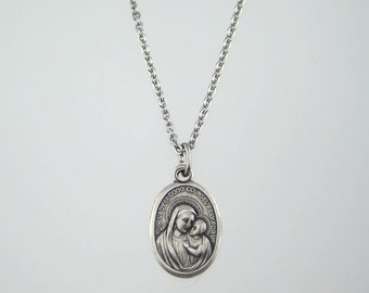 Our Lady of Good Counsel Medal Necklace