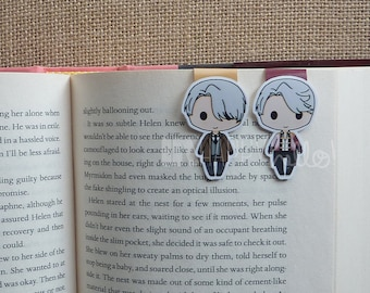 Magnetic Bookmarks • Figure Skaters, The Coach