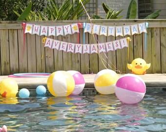 DIY, Rubber Ducky party printables -----NO INVITATION-----