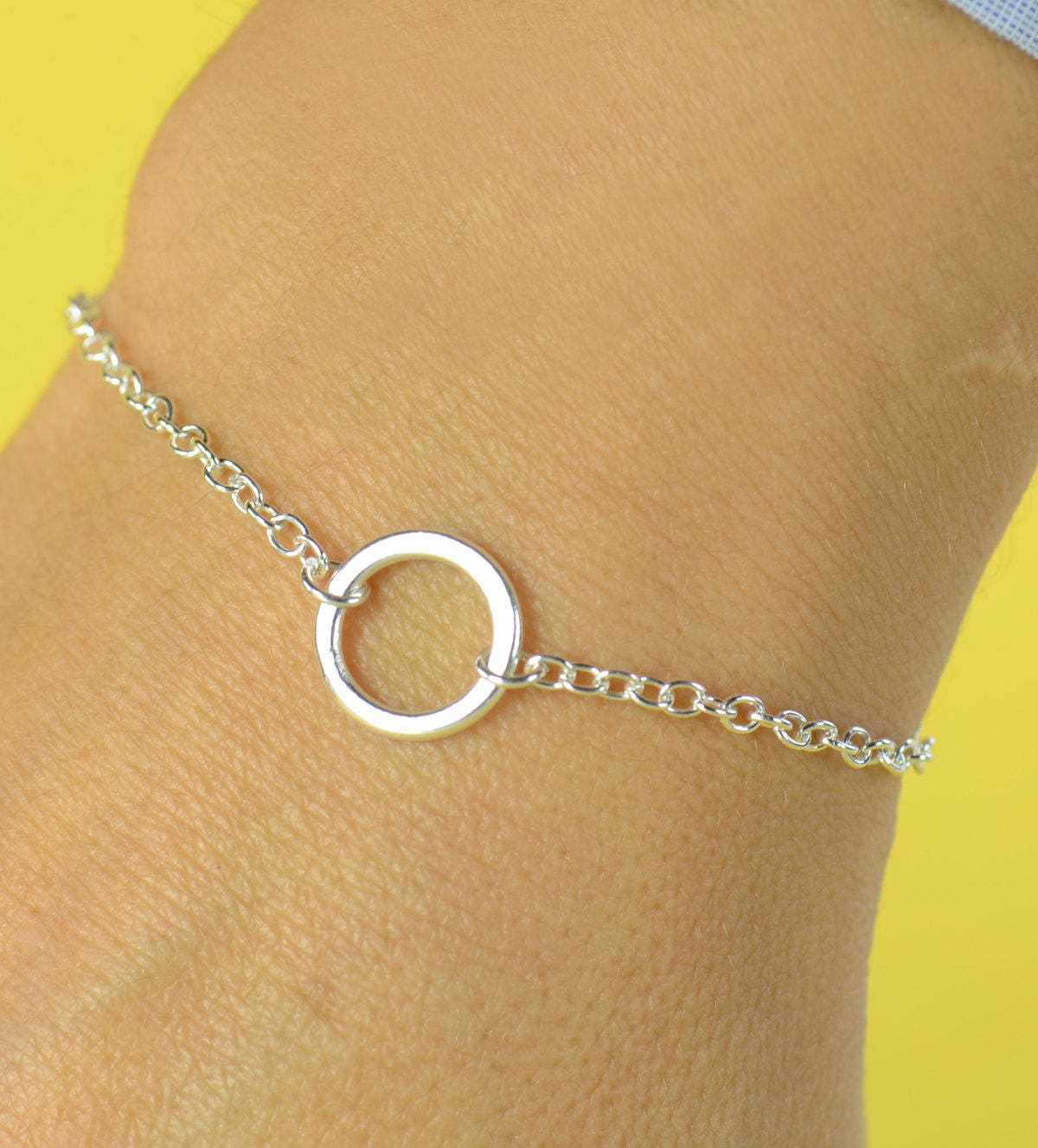 iwf circle bangle products itwasfrom bracelet delicate open rose