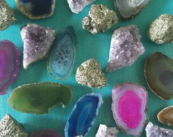 Gemstone Magnets // Royal Suzie Boho Decor