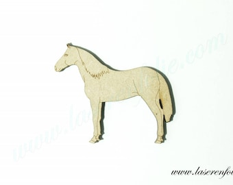 Horse stationary, made in medium, size 5cm