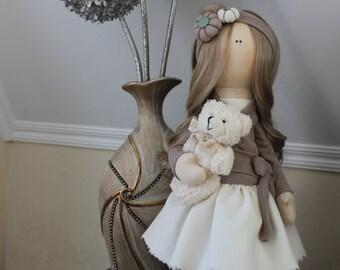 Interior doll, handmade doll