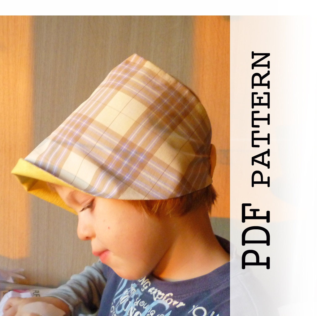 Kids summer hat sewing pattern pdf sewing pattern and zoom jeuxipadfo Image collections