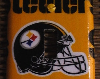 Pittsburgh Steelers Football Single Toggle Light Switch Plate Cover