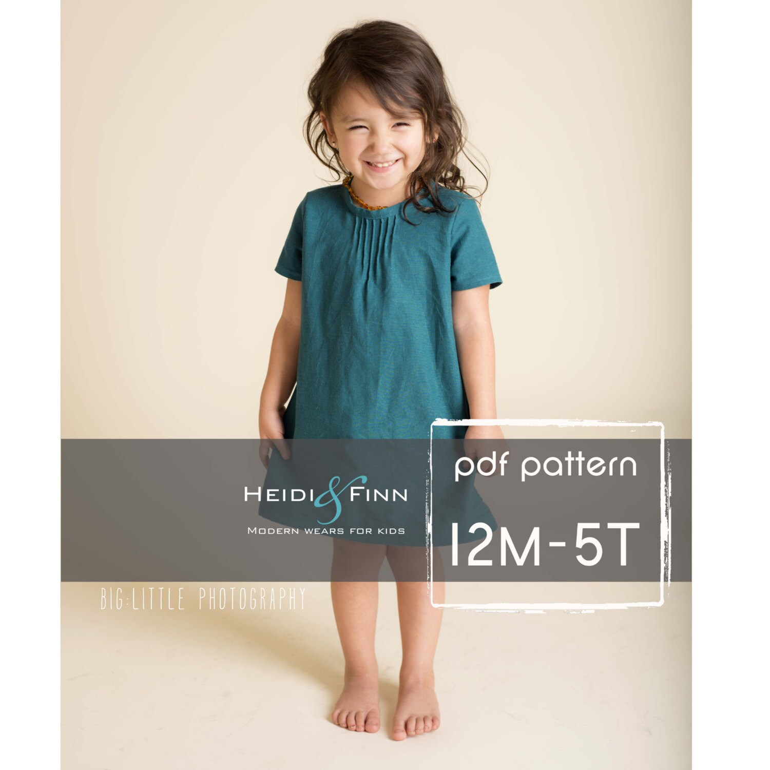 Pintuck blouse and dress pdf pattern and tutorial 12m 5t easy zoom jeuxipadfo Image collections
