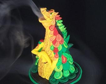 Smokin' Dragon Cone Incense Burner