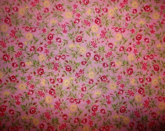 Sea of Flowers Cotton Fabric #241