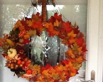 Autumn Splendor Wreath